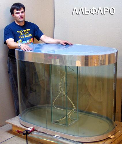 Стекло на аквариум своими руками