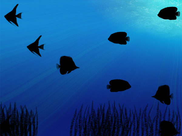 ночная жизнь аквариума